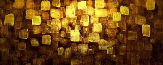 Gold Abstract Art
