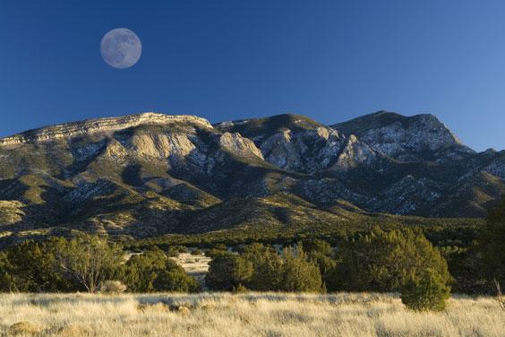 Mountains Near Albuquerque, New Mexico