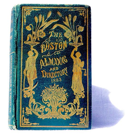 Vintage 19th Century Almanac