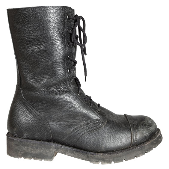 Leather Military Boot