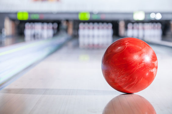 Bowling Ball in a Bowling Alley