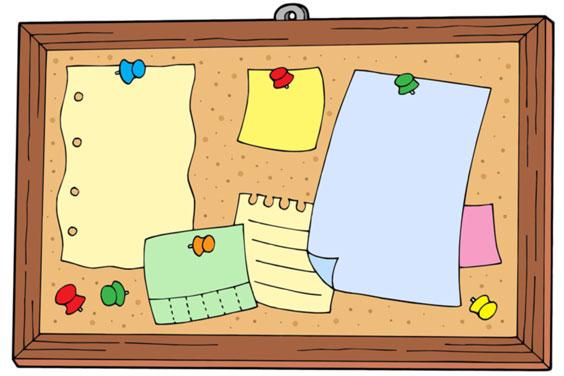 Bulletin Board Illustration