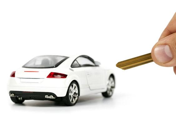Rental Car Key