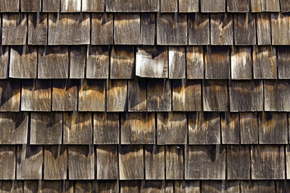 Weathered Cedar Shingles