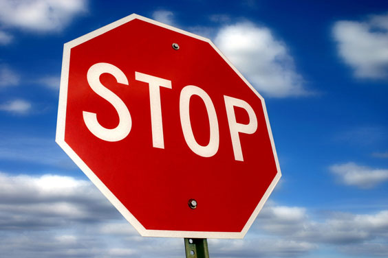 Drivers Must Comply with a Stop Sign