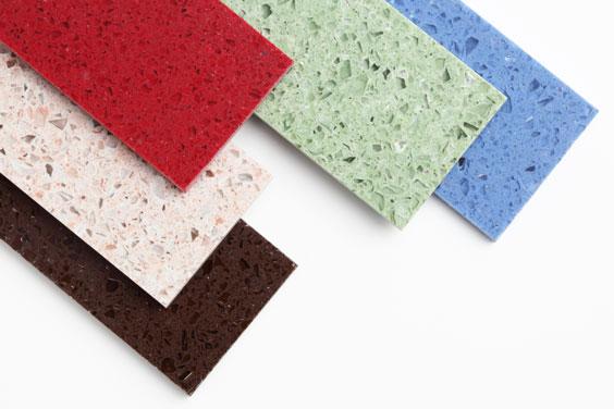 Colorful Countertop Samples