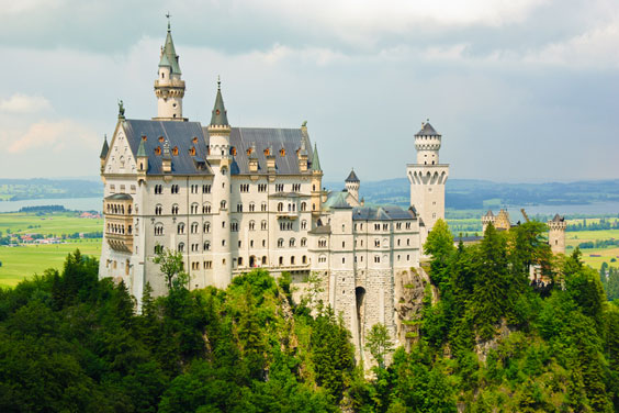 Neushwanstein - Disney Castle Inspiration