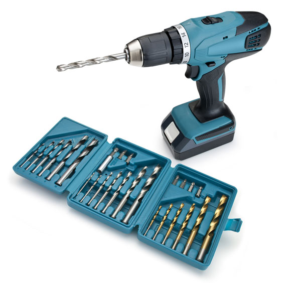 Cordless Drill and Drill Bits