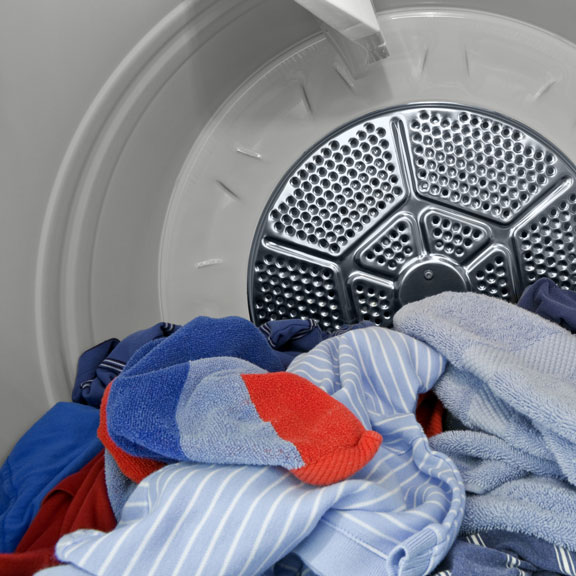 Clothes in a Dryer