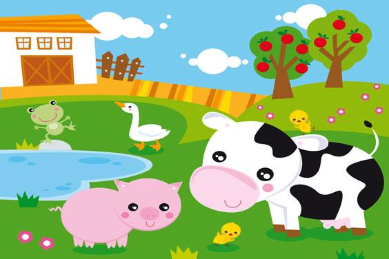 Farm Concept Illustration