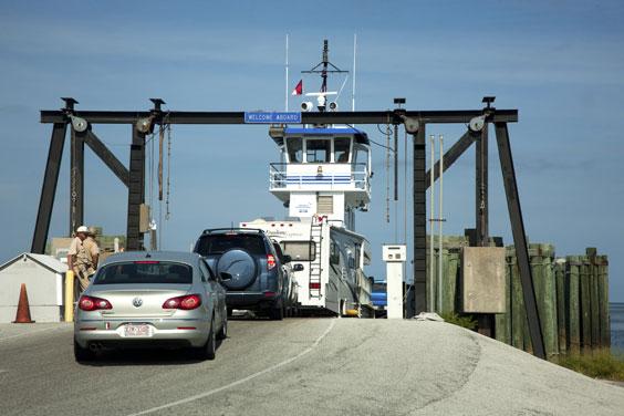 Car Ferry in North Carolina