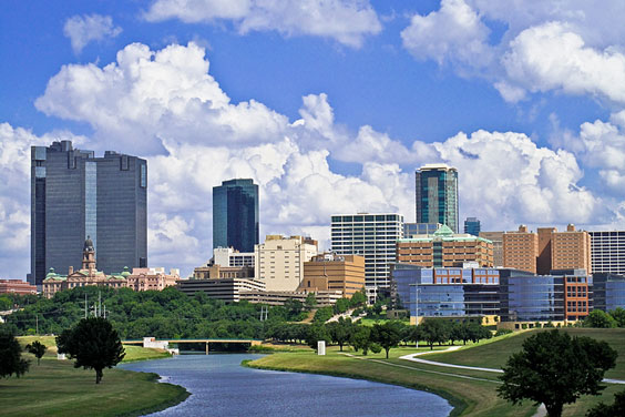 Fort Worth, Texas Skyline