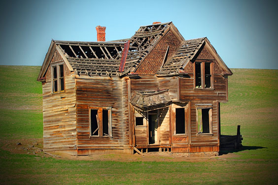 Abandoned Frontier Home