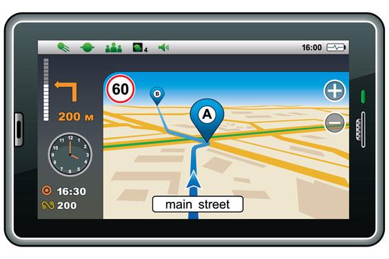 GPS Navigation Unit
