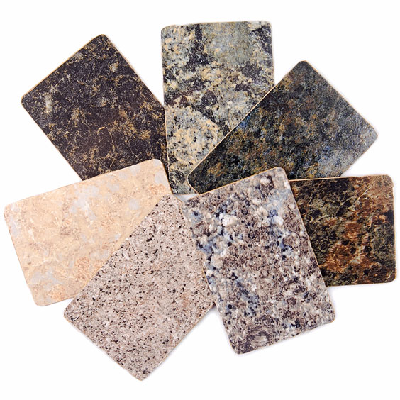 Granite Countertop Samples