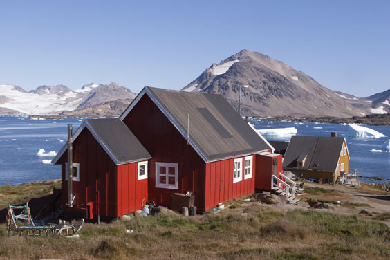 Kulusuk Village in Southeastern Greenland