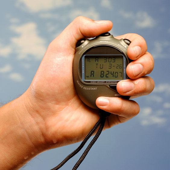 Handheld Stopwatch
