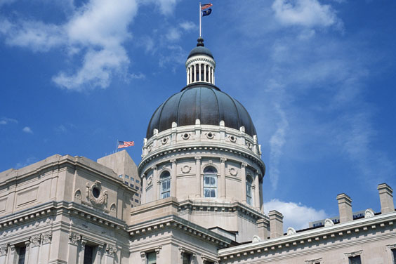 Indianapolis, Indiana State Capitol Building