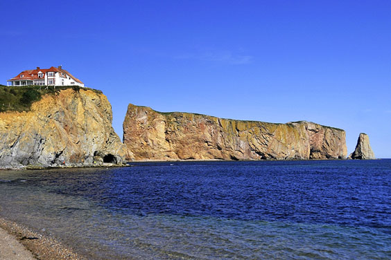 Mainland Promontory and Perce Rock