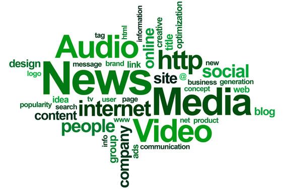 News Media Word Cloud