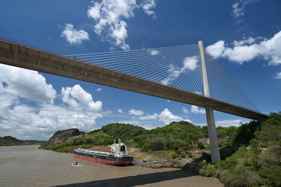 Bridge over the Panama Canal