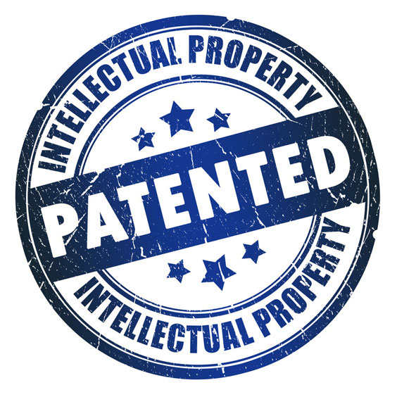 Intellectual Property Patent Stamp