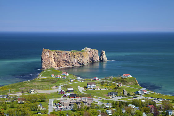 Perce Rock, Gaspe Peninsula, Quebec