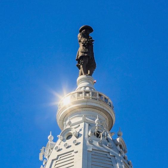 William Penn Statue on City Hall