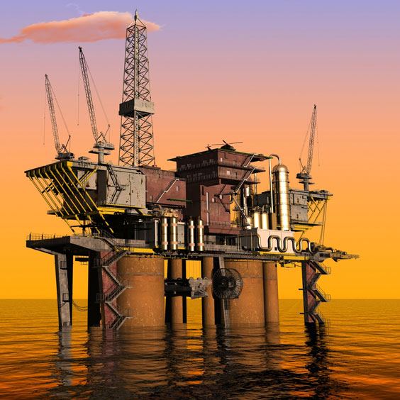 Petroleum Production Rig