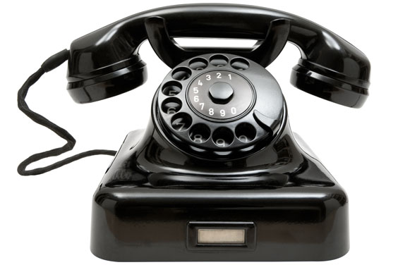 Vintage, Rotary-Dial Phone
