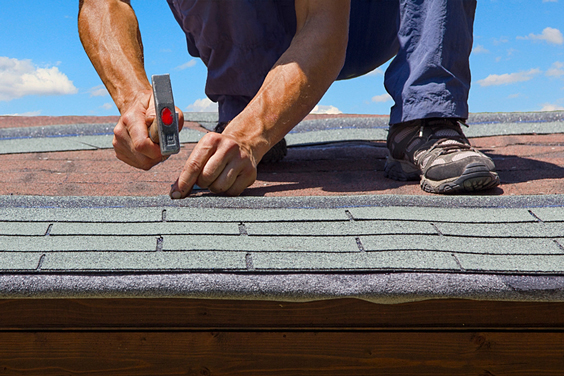 Installing Roofing Shingles