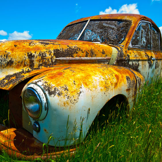 Old, Rusty Car