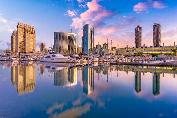 San Diego, California Skyline