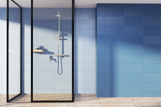 Contemporary Shower Stall