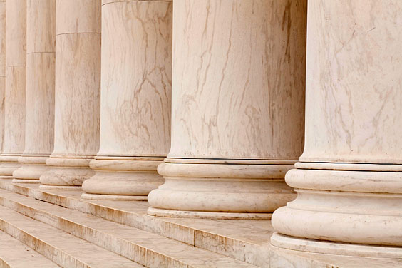 Stable Marble Columns