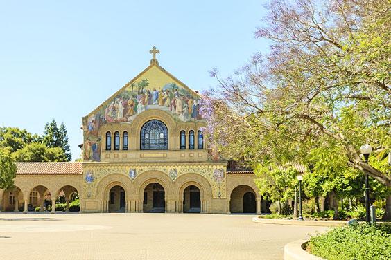 Stanford Memorial Chuch in Palo Alto