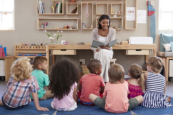 Story-telling Time in Kindergarten
