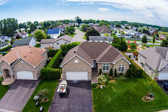 Suburban Residential Neighborhood