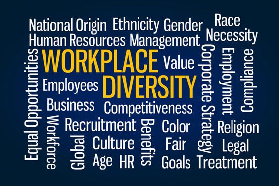 Workplace Diversity Word Cloud